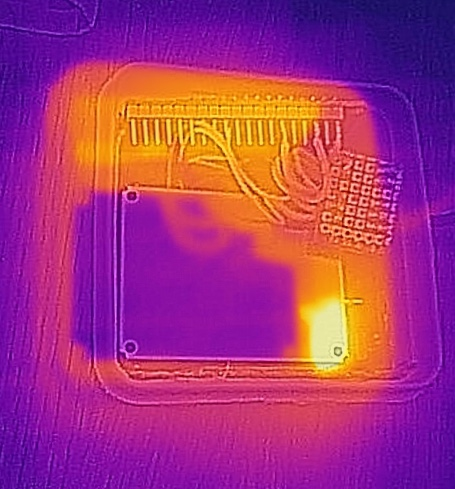 MICS6814 thermal image