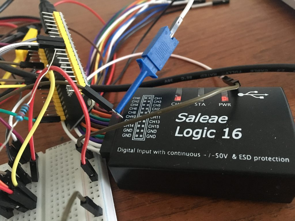 PMS5003 Logic analyser debugging